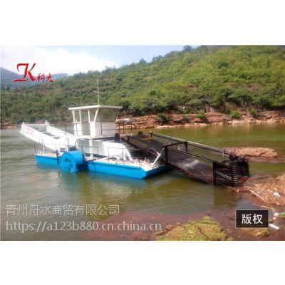水草打捞船 清理水面杂草 保障河道清洁