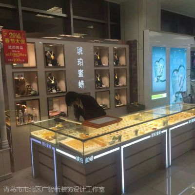 青岛珠宝展柜制作用什么材料好青岛黄金首饰柜台制作都有哪些材料