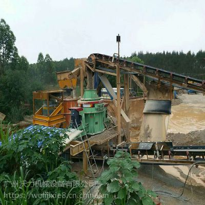 中美沃力机械 江西萍乡鹅卵石制砂机 机械设备厂家