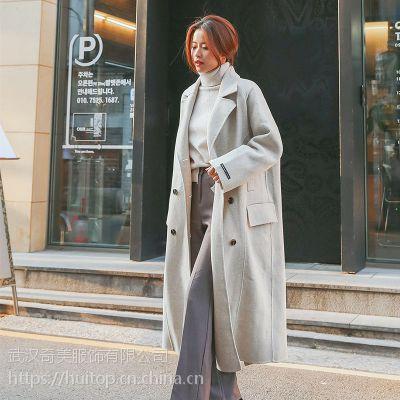 Five Plus深圳大码女装尾货批发价格 加盟女装品牌折扣店尾货粉色半身裙