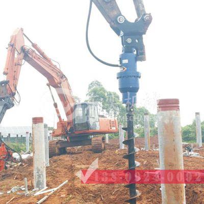 挖掘机植树挖坑机 选东奕液压钻机