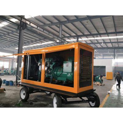 绍兴供应300KW玉柴移动柴油发电机组 工地用移动发电机