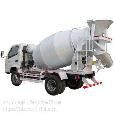 湖北荆州 唐骏3立方小型混凝土搅拌运输车价格厂家优惠直销