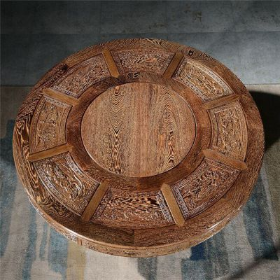 鸡翅木泡茶桌定制-鸡翅木泡茶桌-「垲欣红木」质量好
