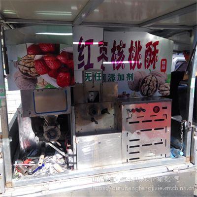 新乡跑江湖畅销成段麻花机 四缸发动机带绿豆麻花机 18核桃粽子机