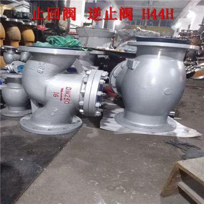 彭州市升降式止回阀 H41W-10P H41W-16P 不锈钢304材质逆止阀 止回阀 DN400