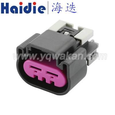 Haidie2芯防水6.3系列德尔福Delphi 汽车连接器15454358