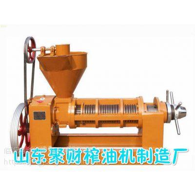 广东德庆新型全能压榨型茶籽花生榨油机一机多用 大型免炒料花生榨油机易操作