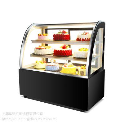 艾豪思蛋糕柜熟食展示柜冷藏甜品西点玻璃冰柜商用风冷水果保鲜柜