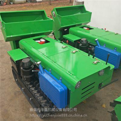 新疆果树开沟机施肥机 自走式旋耕施肥机 电启动柴油果园开沟机