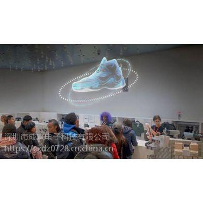 3d炫屏广告机,打造视觉新体验,led风扇屏