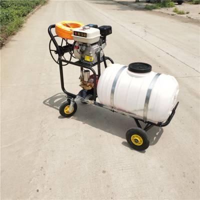 宇悦手推农作物打药机三轮自走式喷雾器 大容积药桶打药机批发零售