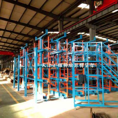 福建棒材存放架 伸缩悬臂货架结构 钢材库配套货架 专业厂家