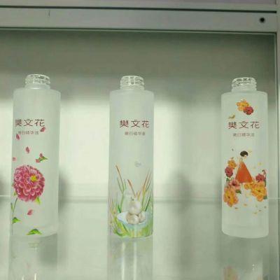 宏华玻璃200ml扁方圆小口饮料瓶