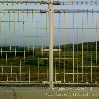 便宜的护栏网 尖头防护网价格 双弯锌钢护网