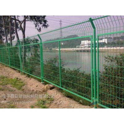 高速、小区、球场防护护栏网-带边框折弯护栏-质量没的说