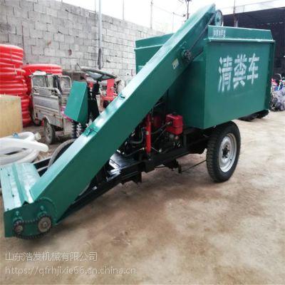 3立方容量粪便运输车 稀粪也能轻松刮起清粪车