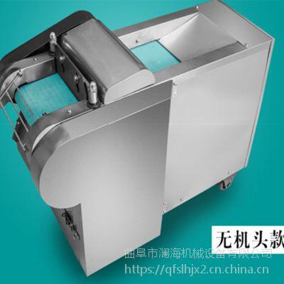 饭店葱花姜片切菜机 不锈钢电动切菜机制造