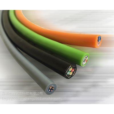 超高柔,耐弯曲电源拖链电缆TRVV 1000万次