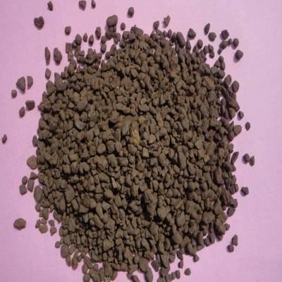 河南锰砂滤料 / 除铁除锰专用锰砂滤料价格