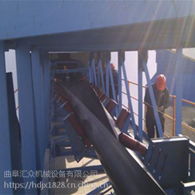 管状带式输送机炉渣专用 固定型