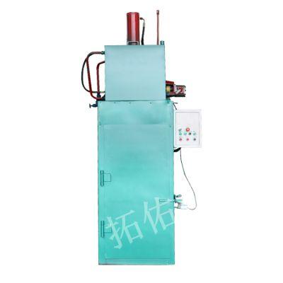 立式油漆桶液压打包机拓佑供应加固型铁桶压扁机