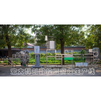 宏大科创大型数控豆腐皮机 高产豆腐皮机设备 价格