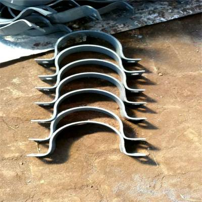 A6双螺栓管夹厂家 合金12cr1mov材质 公司热线