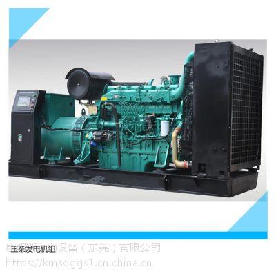 江门400KW玉柴柴油发电机组