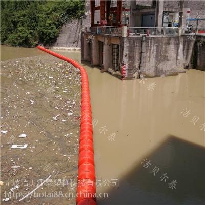 水电站上游集污装置塑料拦污浮筒价格