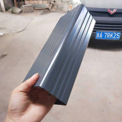 杭州铝合金方形雨水管落水斗别墅排水系统