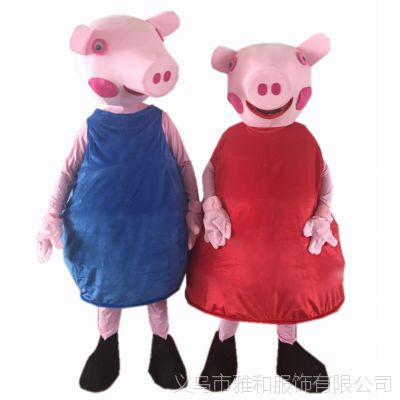 抖音熊网红熊行走装布朗熊人偶服装成人卡通红猪道具熊玩偶服装