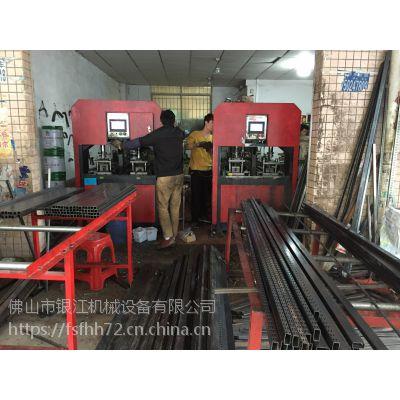 江苏常熟银江机械超市货架全自动液压冲孔机代加工财富热线