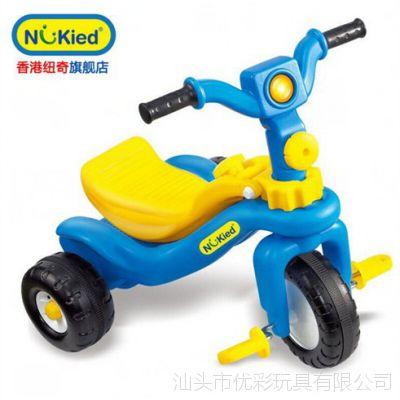 纽奇 儿童三轮车脚踏车多功能自行车宝宝踏板车滑轮车童车玩具