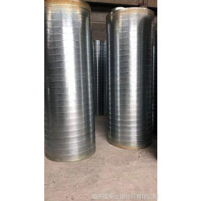 重庆螺旋风管加工厂 镀锌螺旋管加工