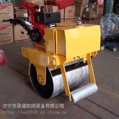 小型沥青压实机-晟诺机械-手扶式压路机-型号