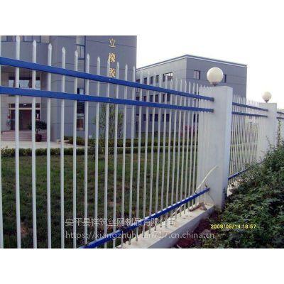 锌钢护栏网厂家定制安装尖头铁栏杆围栏围墙厂家