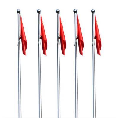 金聚进 不锈钢广告旗杆供应 徐州16米国旗杆 广场