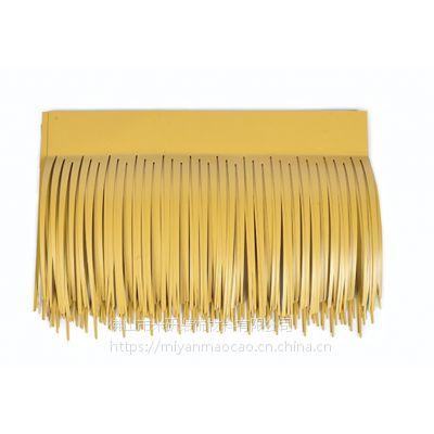 青海省西宁市铝制仿茅草是怎么卖的?每平方使用多少片?价格优惠