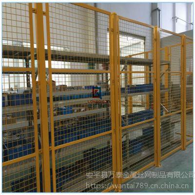 2米基坑防护网 优质护栏网 方孔铁丝网栏