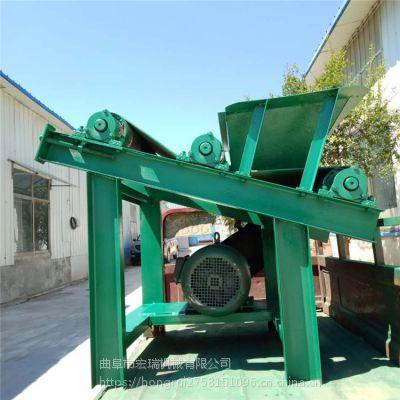随州随清农作物装卸用抛粮机 宏瑞大功率锯末分离除杂机价格