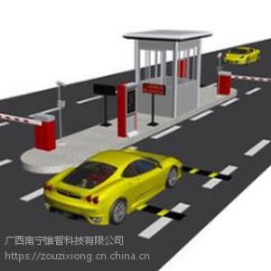广西崇左停车场管理系统车牌识别、伸缩门厂家批发安装