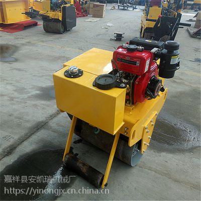 手扶单轮压路机 小型单轮压路机价格 手推震动压土机