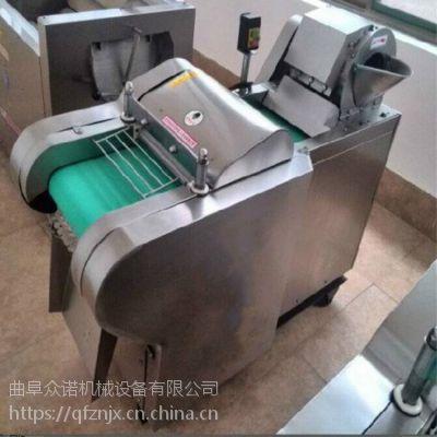饭馆用多功能电动切菜机 新鲜豆角切段机 海白菜切段机厂家