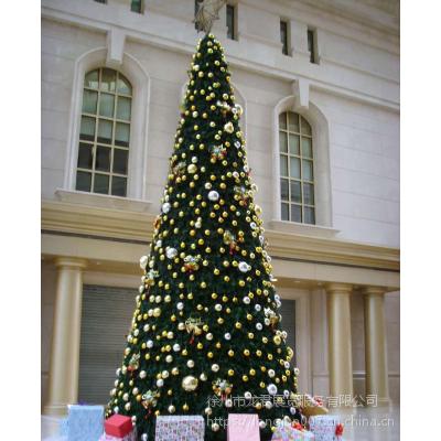户外大型圣诞树商场酒店亚克力板材圣诞树 圣诞节布置厂家供应