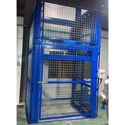 1-30吨导轨货梯厂房货梯生产安装全国服务华工机械价格优惠