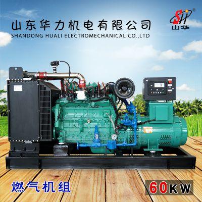 60KW燃气柴油发电机组 厂家直销 山东华力机电