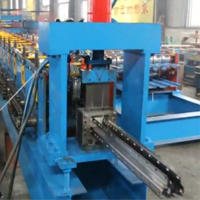 百博压瓦机械生产L型货架立柱成型机 C型仓储货架立柱成型机