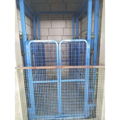 济南金创机械制造导轨式货梯 大吨位提升机 油缸链条传动液压货梯 双体导轨升降平台