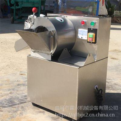 鲜豆角切段机厂家 酸菜切丝机 饭馆用多功能电动切菜机富兴